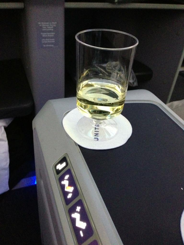 IAH to LOS pre-departure beverage