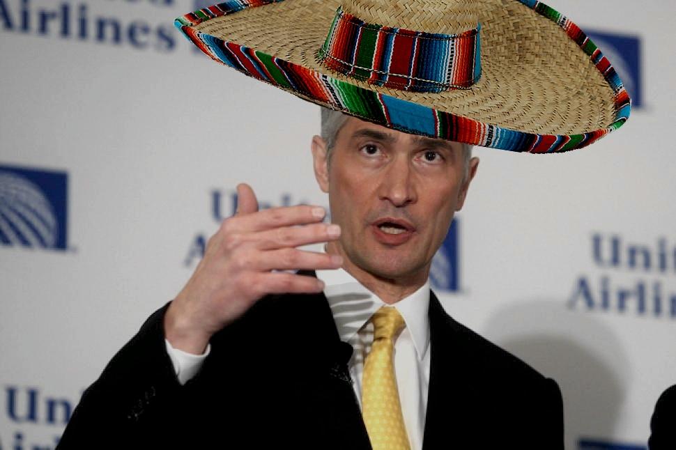 with sombrero