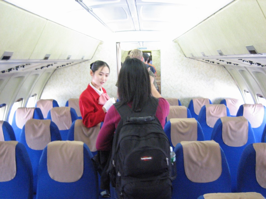 dprk-0145-air koryo stewardess