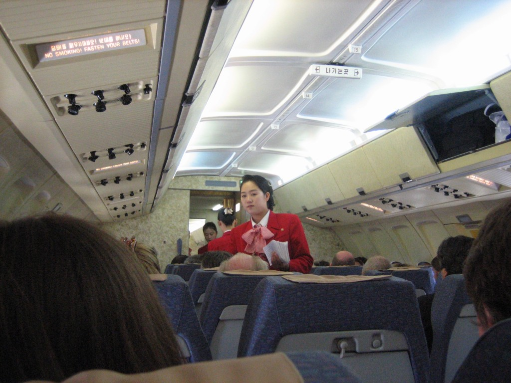 dprk-0172-air koryo stewardess