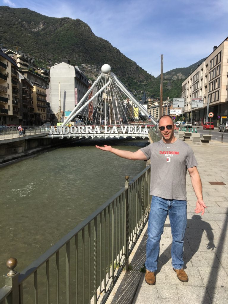 If There Wasnt Going To Be A Passport Stamp Document Our Visit Andorra Picture With This Bridge Would Do