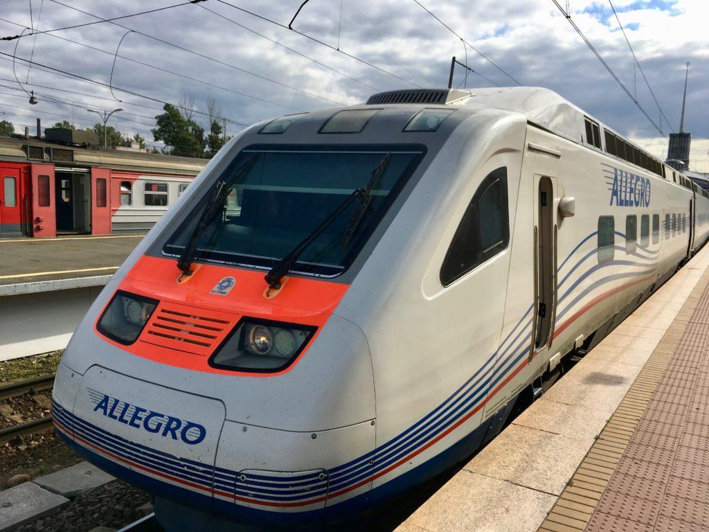 ffd4346e4e615d St. Petersburg to Helsinki in Allegro business class
